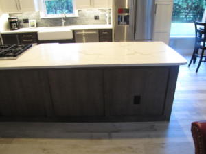 Oceanside Cabinets Palm Bay Bruce Kitchen Island View