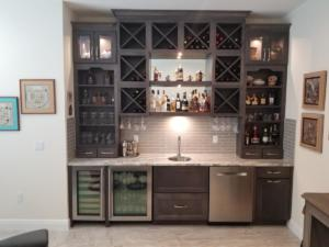 Roda WetBar by Oceanside Cabinets, Palm Bay Florida