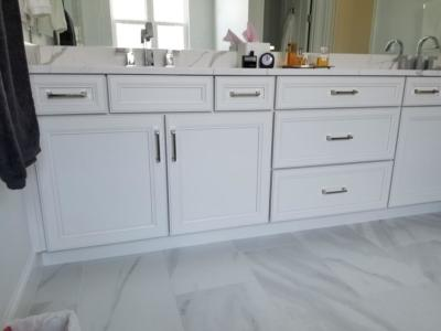 Oceanside Cabinets Bathroom Vanity Cabinet  Melbourne Beach, Florida.