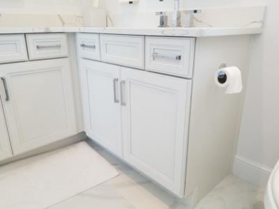 Oceanside Cabinets Bathroom Vanity Cabinet  Melbourne Beach, Florida Side View