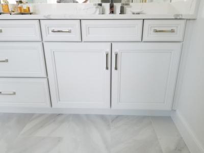 Oceanside Cabinets White Bathroom Vanity Cabinet  Melbourne Beach, Florida