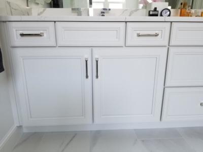 Oceanside Cabinets White Bathroom Vanity Cabinet  Melbourne Beach