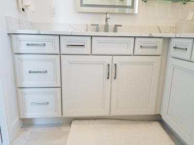 Oceanside Cabinets White Bathroom Vanity Cabinets  Melbourne Beach, Florida