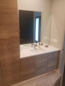 Oceanside Cabinets Palm Bay Bathroom Vanity - Installation at Silva