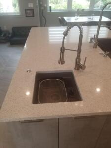 Oceanside Cabinets Palm Bay Kitchen Cabinets Installation at Silva Home Granite View
