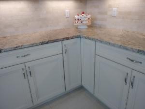 Oceanside Cabinets -Spencer Kitchen Full  Corner View