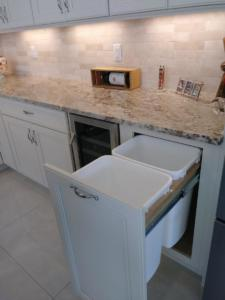 Oceanside Cabinets -Spencer Kitchen Pull Out Trash Drawer