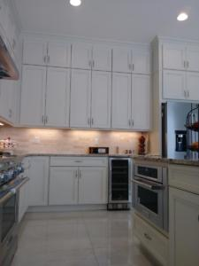 Oceanside Cabinets -Spencer Kitchen Top View