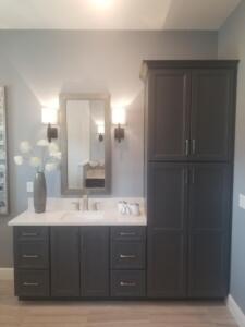 Bent Pine Model Home Bathroom