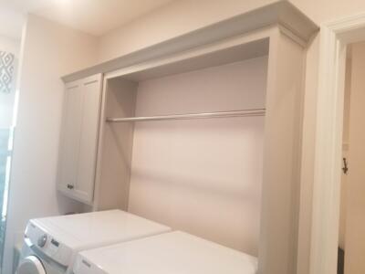 Bent Pine Model Home in Vero Beach Florida Oceanside Cabinets Wash Room